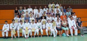 3. Vereinsmeisterschaften der Kinder am 21. Juli 2016 in Talheim
